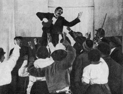 Кадр з фільму «Макдональд» (1924, реж. Лесь Курбас, ВУФКУ)