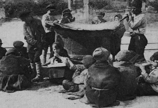 Кадр з фільму «Марійка» (1926, реж. Аксель Лундін, ВУФКУ)