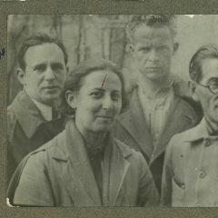 Leonid Mohylevskyi (Leo Moguy) in Odesa in 1924 / / Provided by Katia Moguy / Леонід Могилевський. Одеський інститут народного господарства. 1924 /