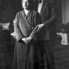 Мои родители. Одесса, 1933 г.
