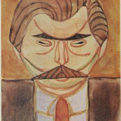 s_Анатоль Петрицький. Портрет Василя Кричвського. 1918 р.-min