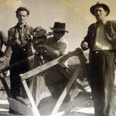 s__Георгій Тасін на зйомках фільму, кінець 1930-х рр.